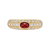 ​Ruby & Diamond Dome Ring