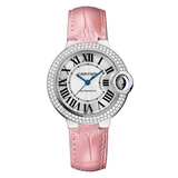 ​Ballon Bleu 33mm White Gold & Diamond (WE902067)