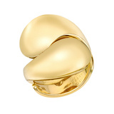 "​18k Yellow Gold ""Carmelo"" Ying-Yang Ring"
