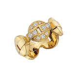 "18k Yellow Gold & Diamond ""Himalia"" Band Ring"