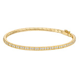 18k Gold & Diamond Flexible Bracelet