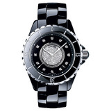 J12 Large Automatic Black Ceramic (H1757)