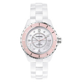 "J12 38mm ""Soft Rose"" White Ceramic (H5199)"