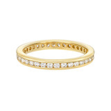 Channel-Set Diamond Eternity Band (~0.5 ct tw)
