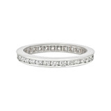 Channel-Set Diamond Eternity Band (~0.6 ct tw)