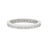 Channel-Set Diamond Eternity Band (~0.7 ct tw)