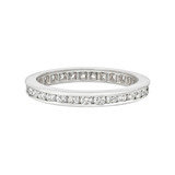 Channel-Set Diamond Eternity Band (~1.25 ct tw)