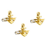 18k Gold Anchor Shirt Studs