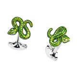 Silver Snake Cufflinks