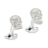Silver Skull Cufflinks