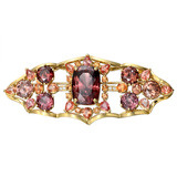 "Zircon & Diamond ""Duchess"" Brooch"