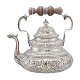 Dutch Silver Tea Pot with Dolphin Spout, Circa 1730