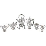 Early-20th Century 6-Piece Silver Tea & Coffee Service