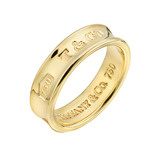 "18k Gold Wide ""1837"" Wedding Band"