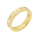 """1837"" 18k Gold Wedding Band"
