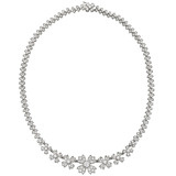 Diamond &quot;Floret&quot; Necklace