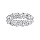 French-Cut Diamond Eternity Band (~10 ct tw)