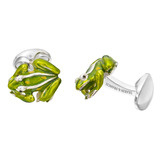 Silver Frog Cufflinks