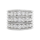 7-Row Diamond Eternity Band (~2.96 ct tw)