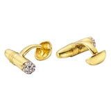 ​18k Gold Cigar Cufflinks