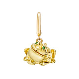 18k Yellow Gold Frog Charm/Pendant