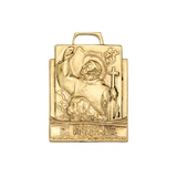​14k Yellow Gold St Bernard Pendant
