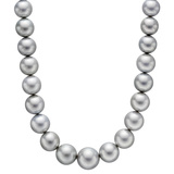 Gray South Sea Pearl Necklace