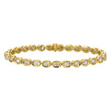 "18k Yellow Gold & Diamond ""Oasis"" Bracelet"