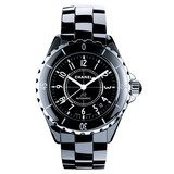 J12 Large Automatic Black Ceramic (H0685)