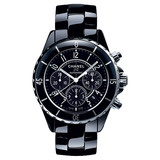 J12 Chronograph Black Ceramic (H0940)