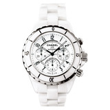 J12 Chronograph Automatic White Ceramic (H1007)