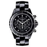 J12 Chronograph Black Ceramic (H2419)