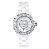 J12 Small Quartz White Ceramic (H2429)
