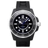 J12 &quot;Marine&quot; Extra Large Automatic Black Ceramic (H2558)
