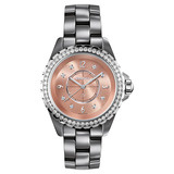 J12 Chromatic Small Quartz Titanium Ceramic &amp; Diamonds (H2563)