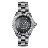 J12 Chromatic Small Quartz Titanium Ceramic & Diamonds (H2565)