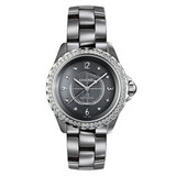 J12 Chromatic Large Automatic Titanium Ceramic & Diamonds (H2566)