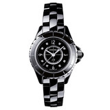 J12 Extra Small Quartz Black Ceramic (H2569)