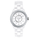 J12 Small Quartz White Ceramic (H3110)