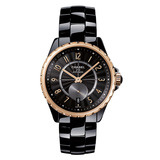 ​J12-365 Black Ceramic & Beige Gold (H3838)