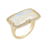 "Rainbow Moonstone ""Patras"" Ring"