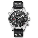 Pilot's Watch Double Chronograph Steel (IW377801)