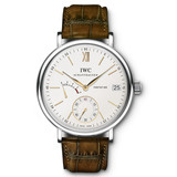 Portofino Hand-Wound 8-Days Steel (IW510103)