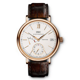 ​Portofino Hand-Wound 8-Days Rose Gold (IW510107)