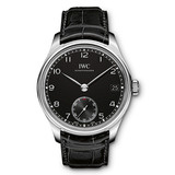 ​Portuguese Hand-Wound Eight Days Steel (IW510202)