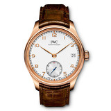 ​Portuguese Hand-Wound Eight Days Rose Gold (IW510204)