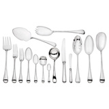 "​Silver ""Thread Edge"" Flatware Set"