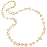 "18k Yellow Gold ""Casino Royale"" Chain Necklace"