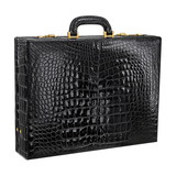 Lana Marks Alligator Briefcase