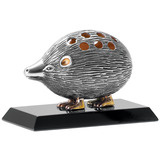 Silver Porcupine Toothpick Holder